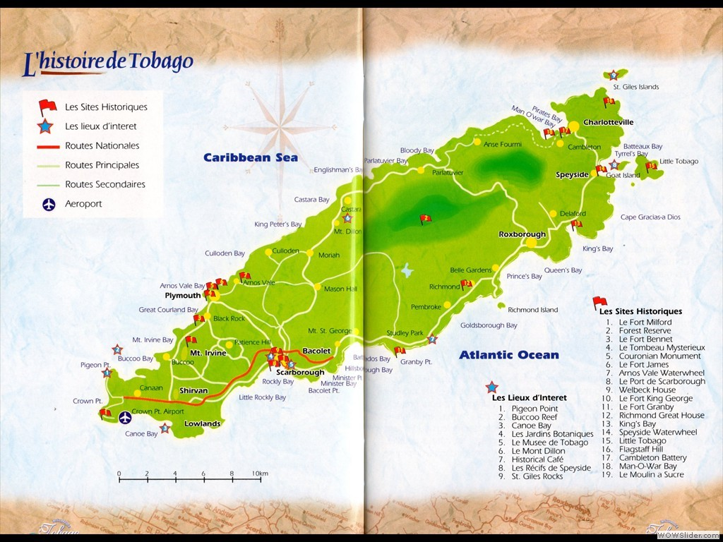 carte Tobago