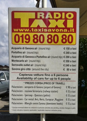 taxis Savone